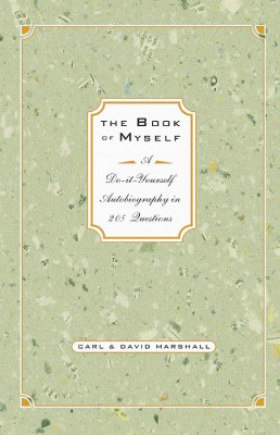 photo of book cover: Book of Myself, by Carl & David Marshall