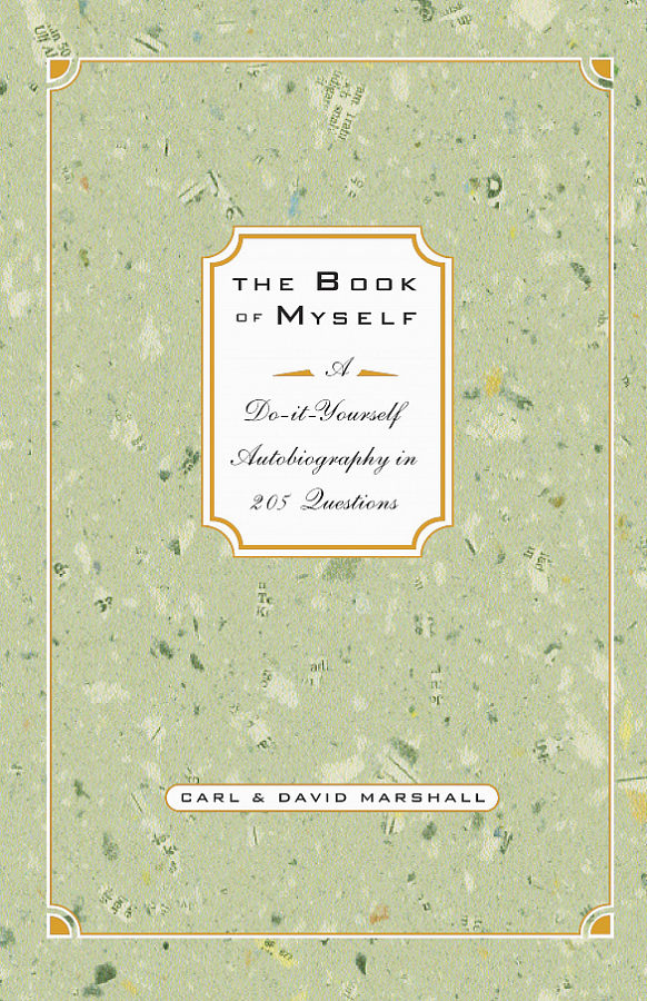 The book of myself marshall books the book of myself solutioingenieria Image collections