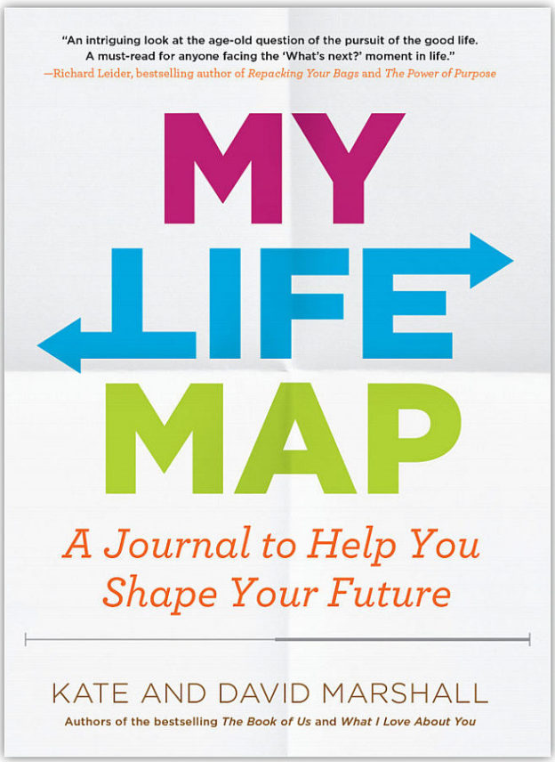 """Photo of book cover: """"My Life Map"""" by Kate & David Marshall"""